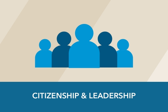 Citizenship & Leadership graphic