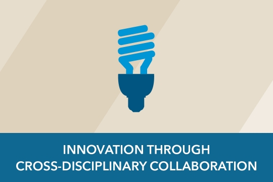 Cross-Disciplinary Collaboration graphic