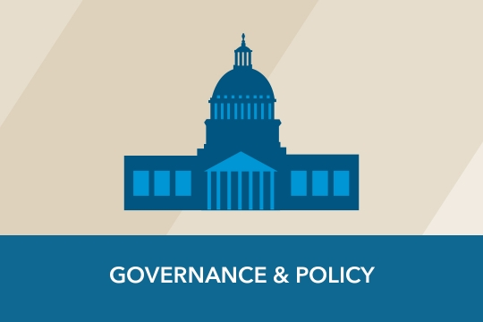 Governance & Policy graphic